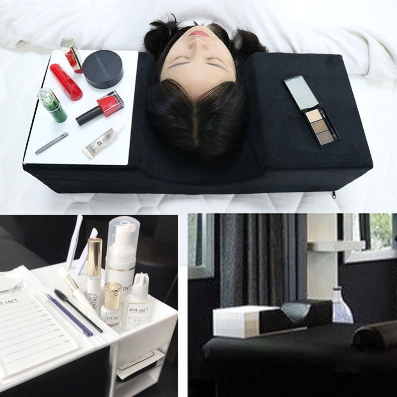 Professional Grafted Eyelash Extension Pillow Cushion For Salon Home Use NEW