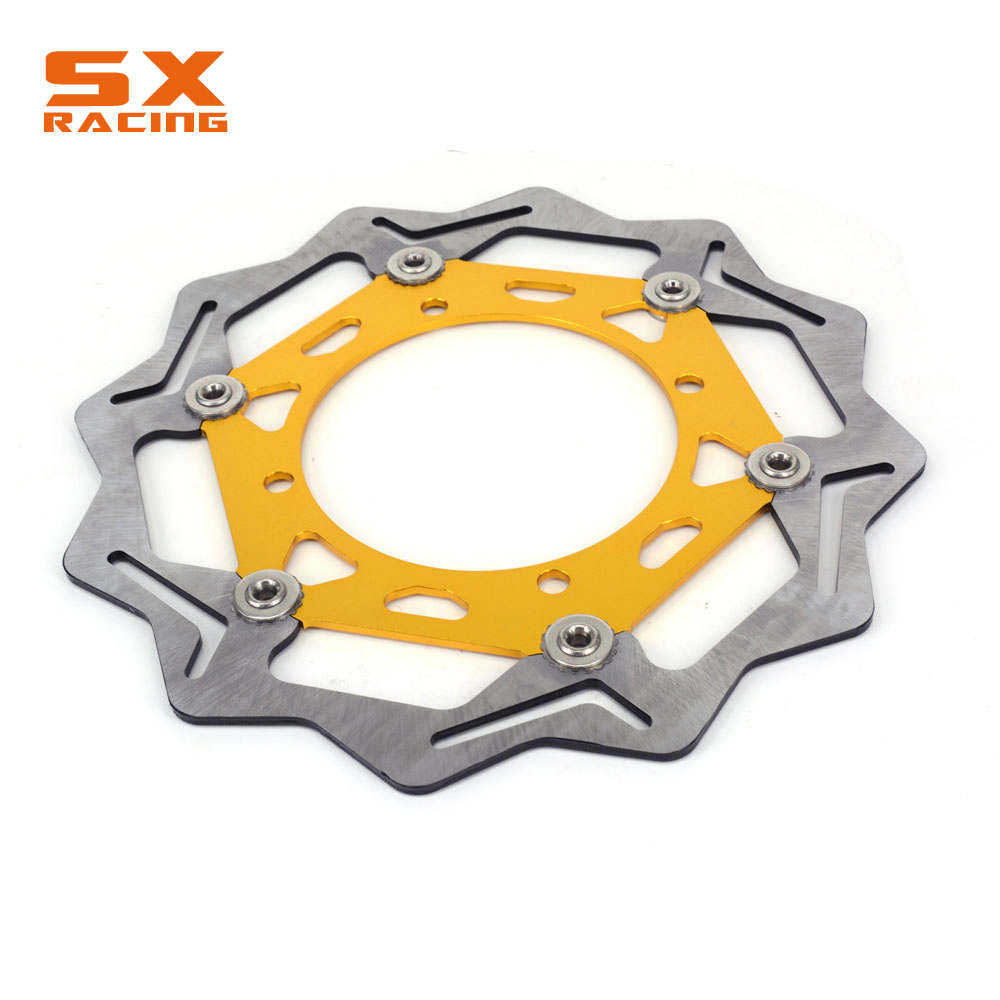 270MM Motorcycle Front Floating Brake Disc Rotor For SUZUKI DRZ400 RM125 RM250 DRZ250 DR250R RMX250 DR350 DRZ400S DRZ400SE