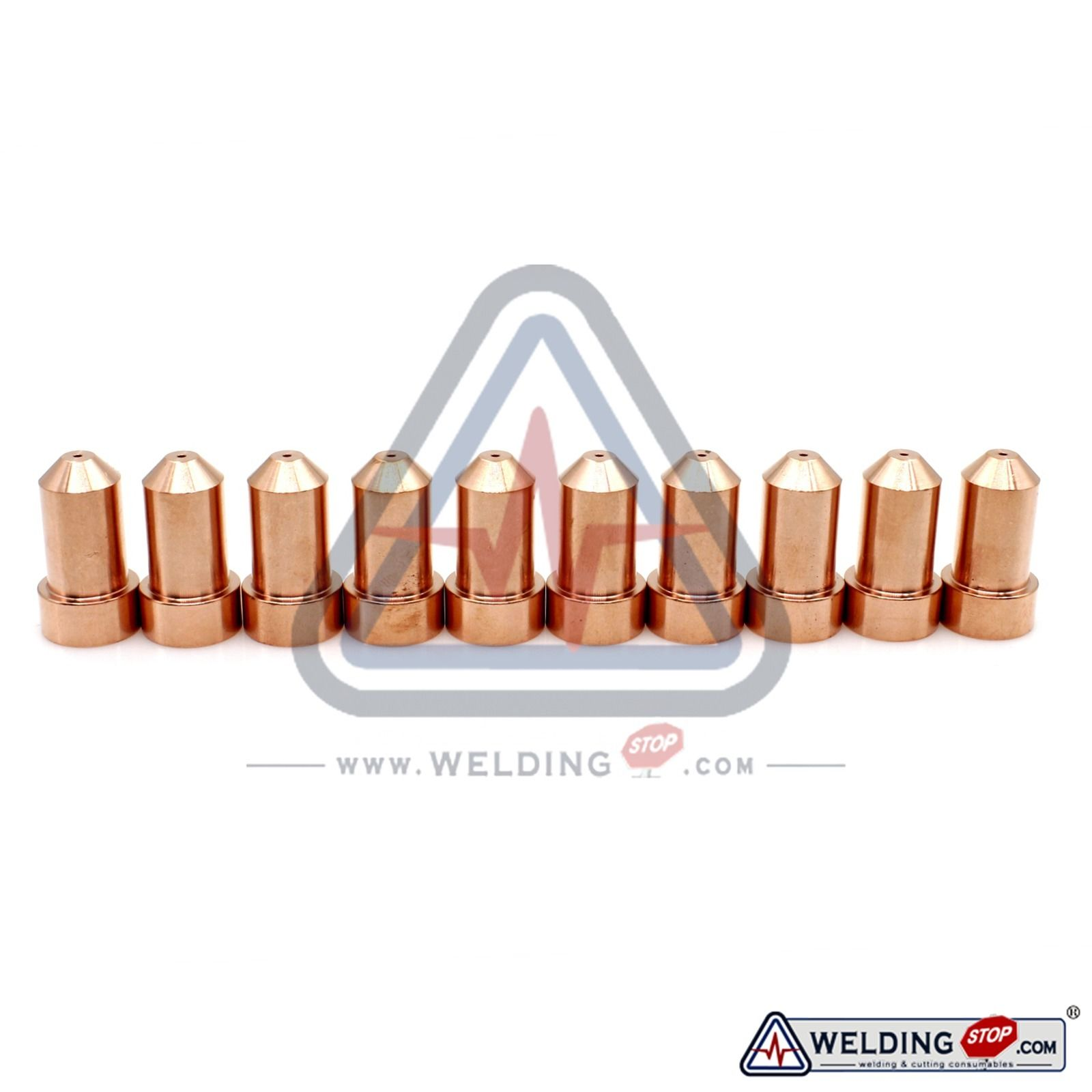 Plasma Torch 50AMP Nozzle Tips KP2844-3 for Lincoln Tomahawk 1000 LC65 Qty-10