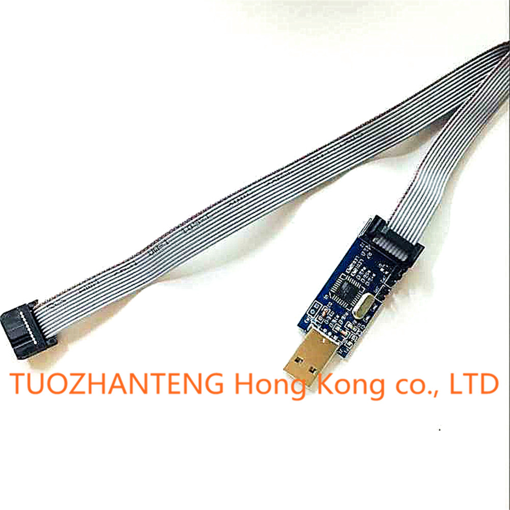 Usbasp Isp 33v 5v Avr Programmer Usb Atmega8 Atmega128 New Wire Electronic Device Support Win7 64bit Lcd Pcb Watch Peltier Nodemcu