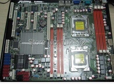 Оригинальный двойной путь Z8NA-D6 материнская плата сервера/D6C поддержка 1366 pins xeon E5500 и E5600 sereis