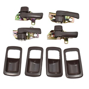 Image 4 - ISANCE 8pcs Brown Inside Door Handle Front Rear Left Right SET For Toyota Camry 1992 1993 1994 1995 1996 6920532070 6920532071