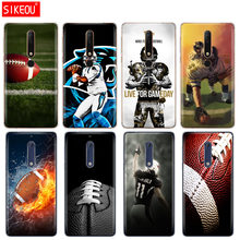 Silikon abdeckung telefon fall für Nokia 5 3 6 7 PLUS 8 9/Nokia 6,1 5,1 3,1 2,1 6 2018 Sport American Football(China)