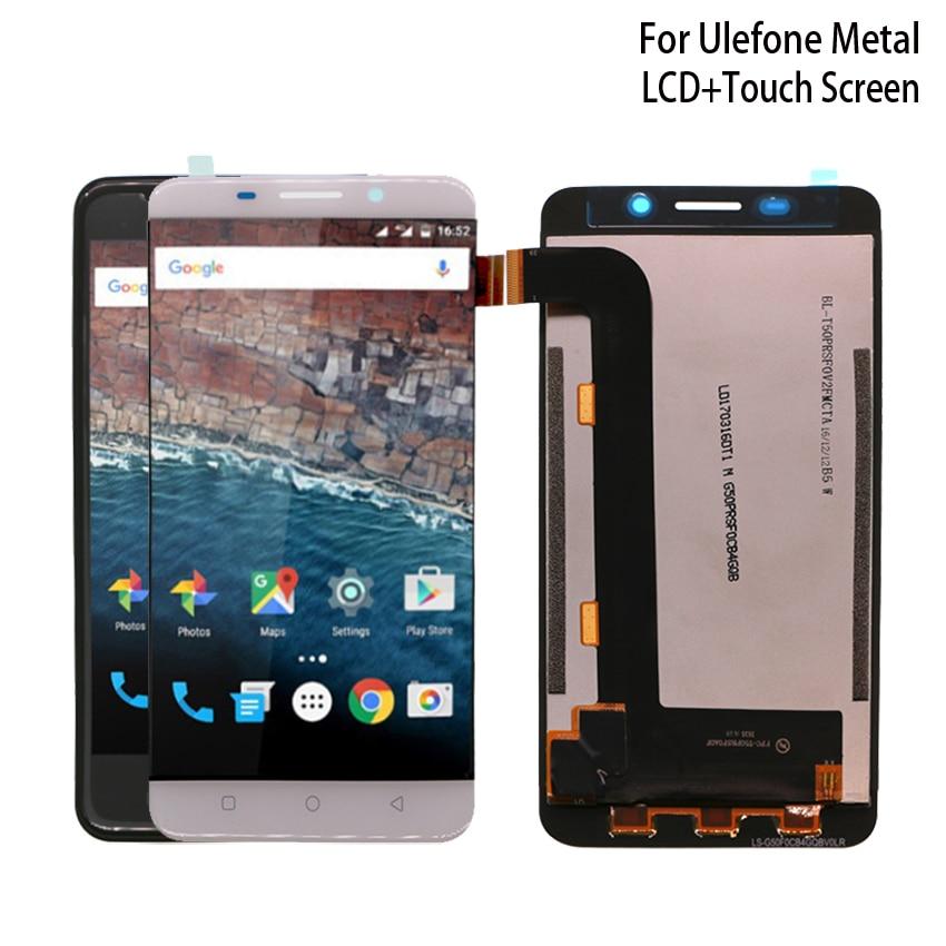 Оригинальный Для UleFone Metal ЖК-дисплей Дисплей с Сенсорный экран планшета Ассамблеи для Ulefone Metal Lite Экран дисплея ЖК-дисплей
