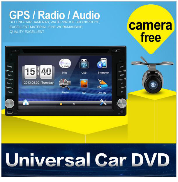 2 din Car Radio monitor Auto radio DVD Player USB GPS map In dash Car PC Stereo video steering RDS Head Unit+Free Camera For VW 2 din car dvd player monitor universal car radio gps auto 3g usb bt ipod fm rds in dash car pc stereo video audio camera for vw