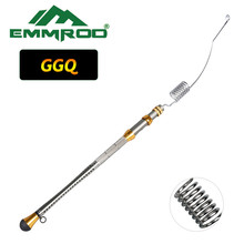 EMMROD Fishing Rod Telescopic Lure Boat/Raft Ice Bait Casting Stainless steel fishing rodGGQ