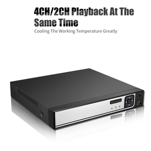 Image 4 - BESDER H.265 CCTV PoE NVR ماكس 4K 4CH 5MP 8CH 4MP IEE802.3af 48 فولت PoE HI3798M CCTV مسجل فيديو لكاميرا H.265 H.264 IP PoE