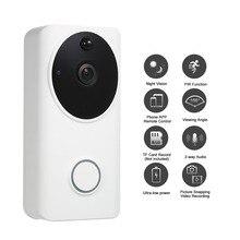 HD 1080 P видео телефон двери WiFi смарт безопасности дверной Звонок визуальная запись системы селекторной связи Совместимость Поддержка телефона ПРИЛОЖЕНИЕ дистанционное управление