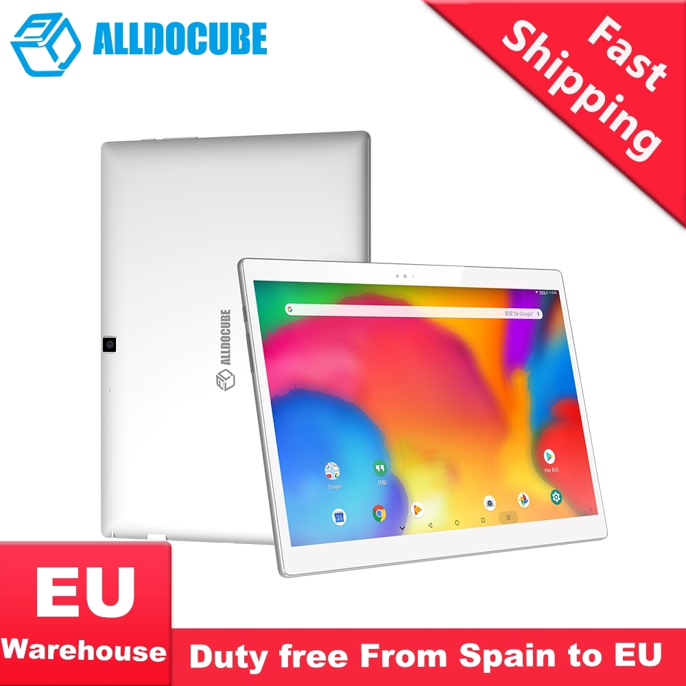 ALLDOCUBE X Super AMOLED écran 6.9mm Ultra mince corps 10.5 2 K 2560*1600 Android 8.1 4GB RAM 64GB ROM tablette PC empreinte digitale 8MP