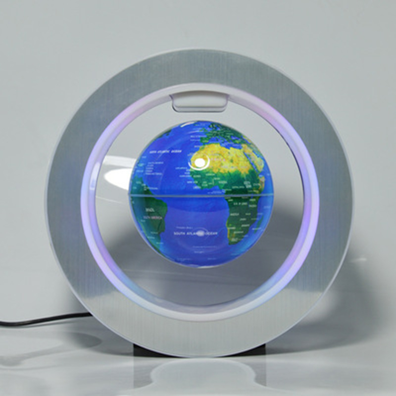 US $34 36 31% OFF|1 pcs Anti Gravity Maglev Globe Ornaments Office Desktop  Toys Decoration Figurines Tool accessories-in Power Tool Accessories from