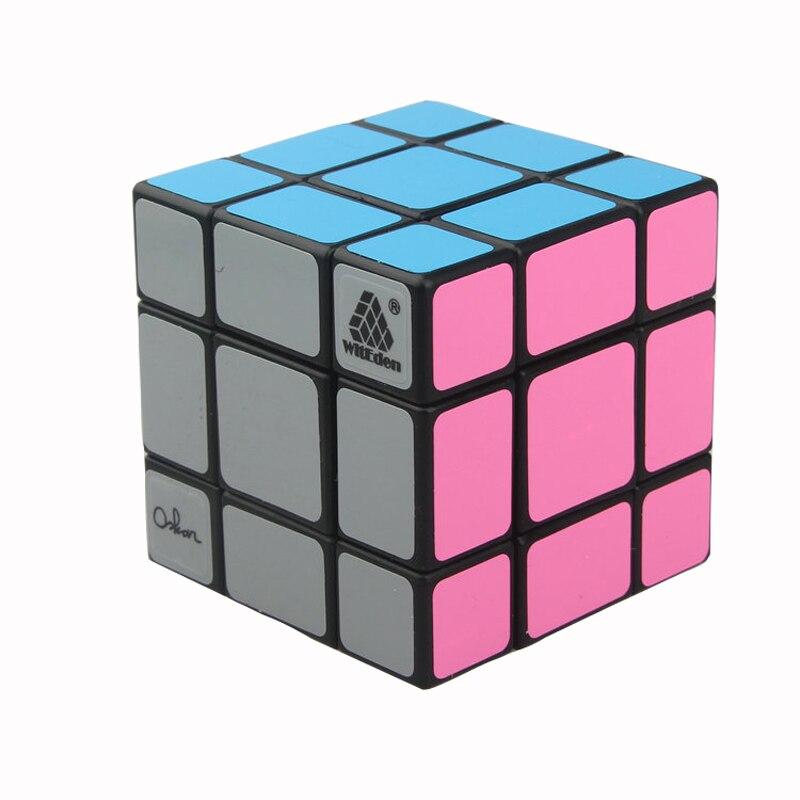 WitEden Oskar Mixup 3x3x3 Cubo Magico 3*3 Cubo Di Puzzle Agitarsi Magico Cubo Giocattoli Educativi