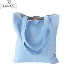 Эко многоразовые хозяйственные сумки ткань продуктовая упаковка перерабатываемая сумка высокое простой дизайн здоровая сумка Мода
