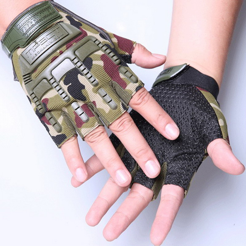 Windproof Outdoor Sports Skiing Glove Cycling Bicycle Gloves Mountaineering Military Motorcycle Racing Gloves outdoor sports full fingers skiing cycling gloves black size l pair