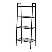 4 Tiers Shelf Unit Bookshelf Storage Display Rack Creative Display Rack Stand For Books Plants Sundries