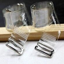 3 пары = 6 шт., металлическая пряжка, бюстгальтер, ремни, пояс, женские эластичные прозрачные силиконовые регулируемые невидимые нижнее белье, женские аксессуары