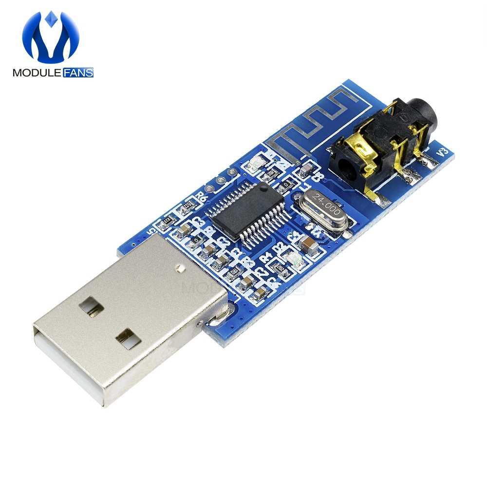 USB Bluetooth 4,0 беспроводной аудиоресивер модуль Bluetooth голосовой плеер с усилитель декодирования Функция светодиодный индикаторная доска