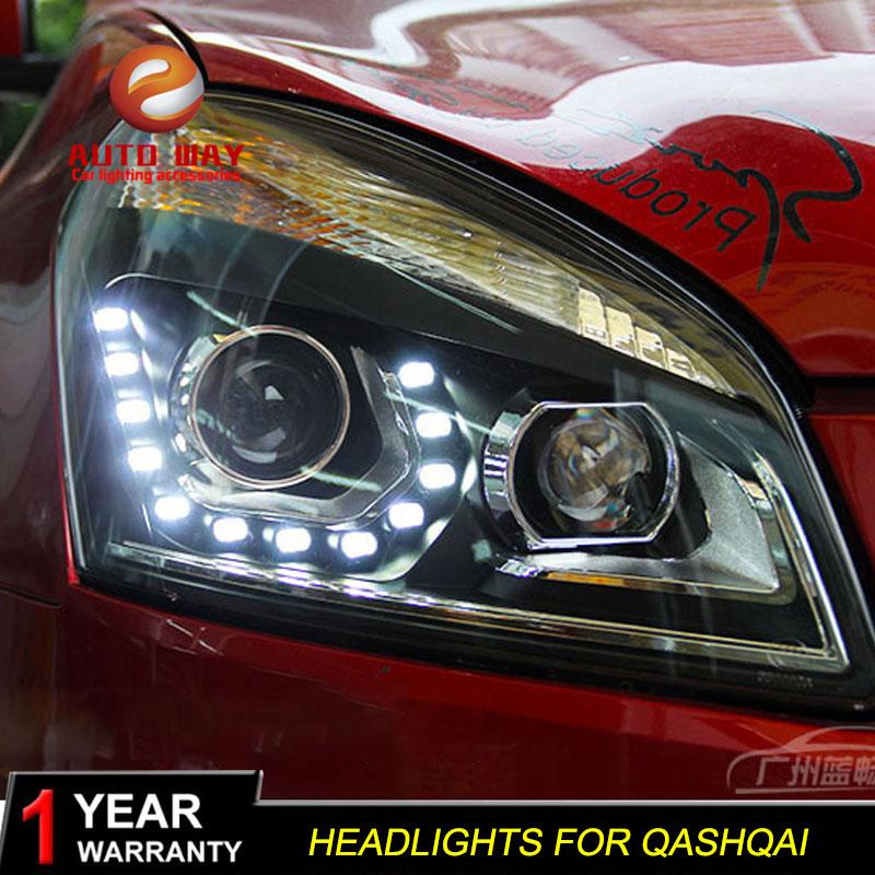Nissan Qashqai fənərləri üçün avtomobil dizaynı üçün işıq - Avtomobil işıqları - Fotoqrafiya 5