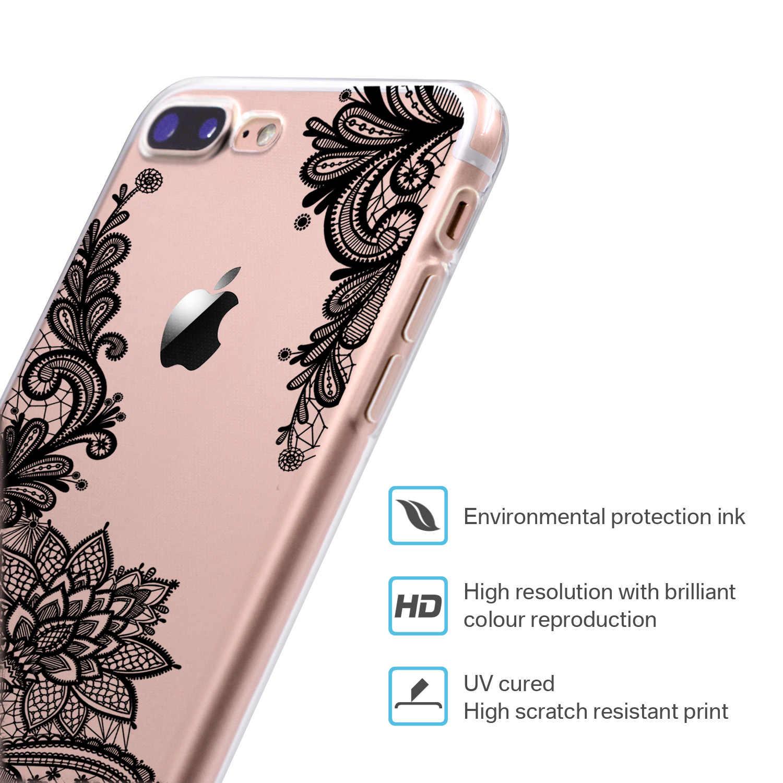 Ren Hoa Mạn Đà La Dành Cho Coque iPhone 11 Pro XS Max XR Mềm TPU Dẻo Silicone Trường Hợp Cho iPhone 8 7 6 6 S Plus 5 SE Bao Bọc Điện Thoại