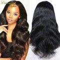 Человеческие Волосы 100% Бразильские Объемная Волна Полный Парик Шнурка Волос Девственницы парики Для Афро-Американских Настоящие Волосы Парик Фронта Шнурка Для Черного женщины