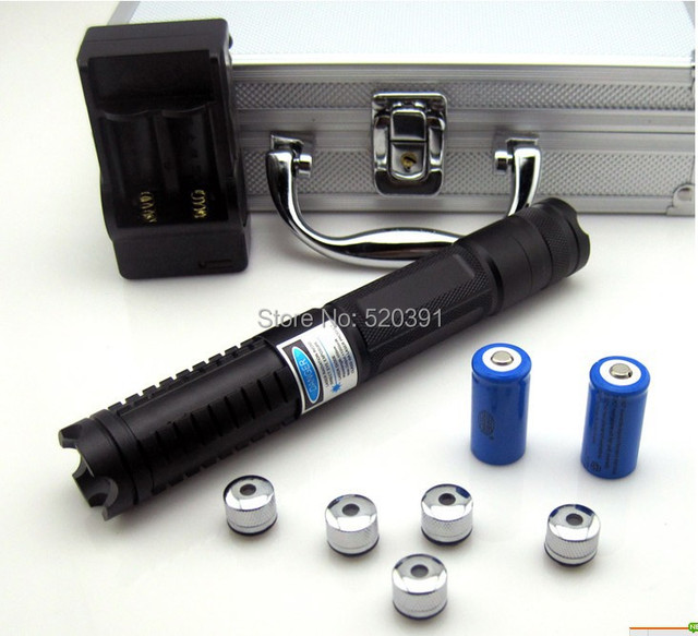 Super Powerful Blue laser pointer 50000mw/50W 450nm burning match balloon dry wood/black/cigarettes+charger+glasses+gift box