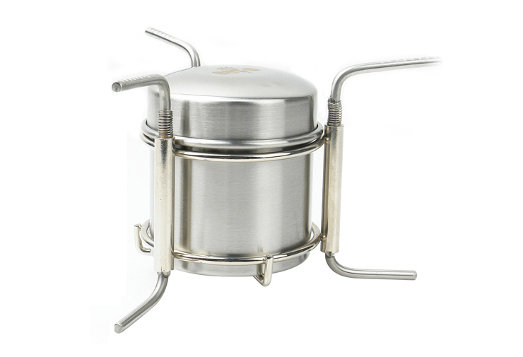 OUT-D Stainless Steel Stove Camping Stove 247g B-1