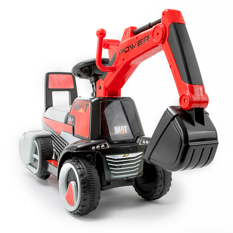 Abdo Children's Car Excavator Can Sit Large Boy Girl Toy Colorful Lights Storage Box Rechargable On Electric Excavator