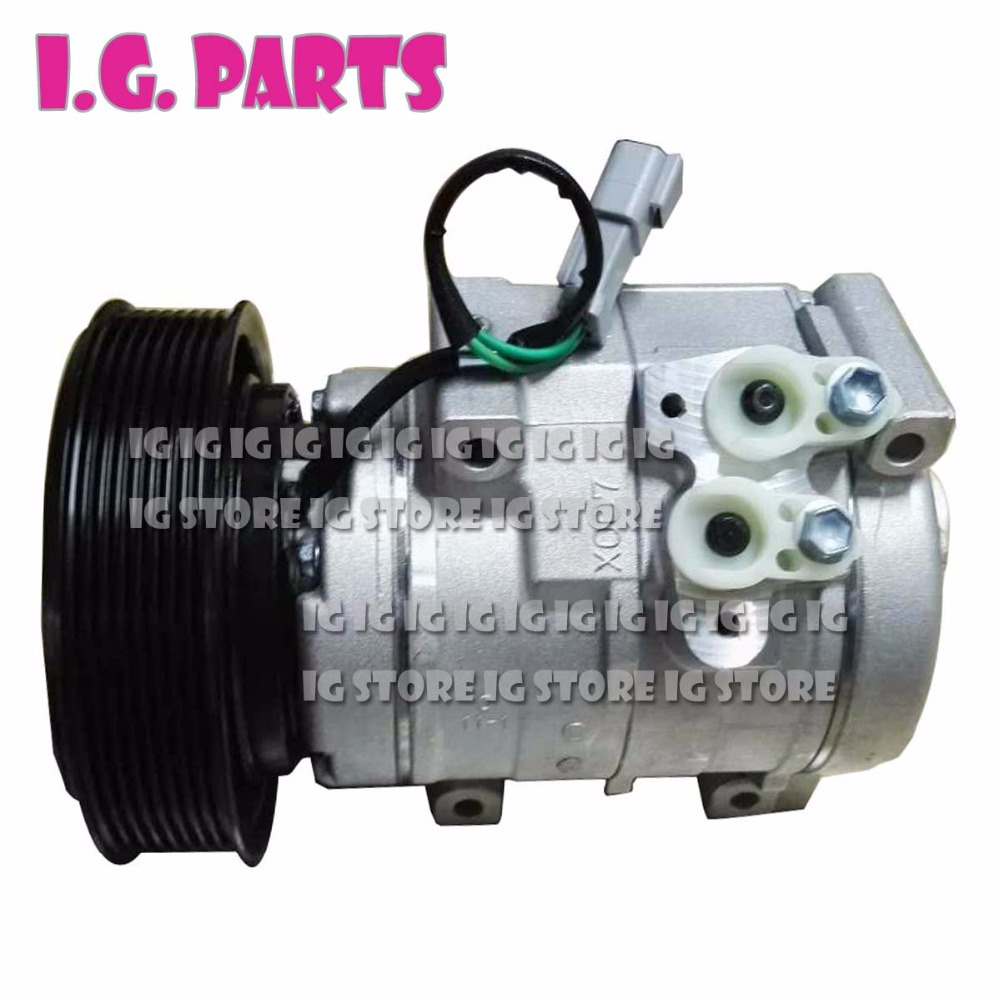 A C Compressor with Clutch fits For Caterpillar excavator 24V 245 7779 259 7243 178 5545 447260 8391 1785545 4472608391 in Air conditioning Installation from Automobiles Motorcycles