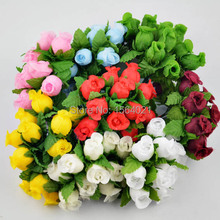 Buy millinery flowers and get free shipping on aliexpress artificial silk rose flowers with green wire stem mix color roses petite silk millinery for weddings mightylinksfo
