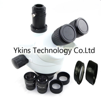 7 45X /7 90X /3.5 90X Continue Zoom visual Trinocular Stereo Zoom Microscope head for industrial Smartphone pcb repair