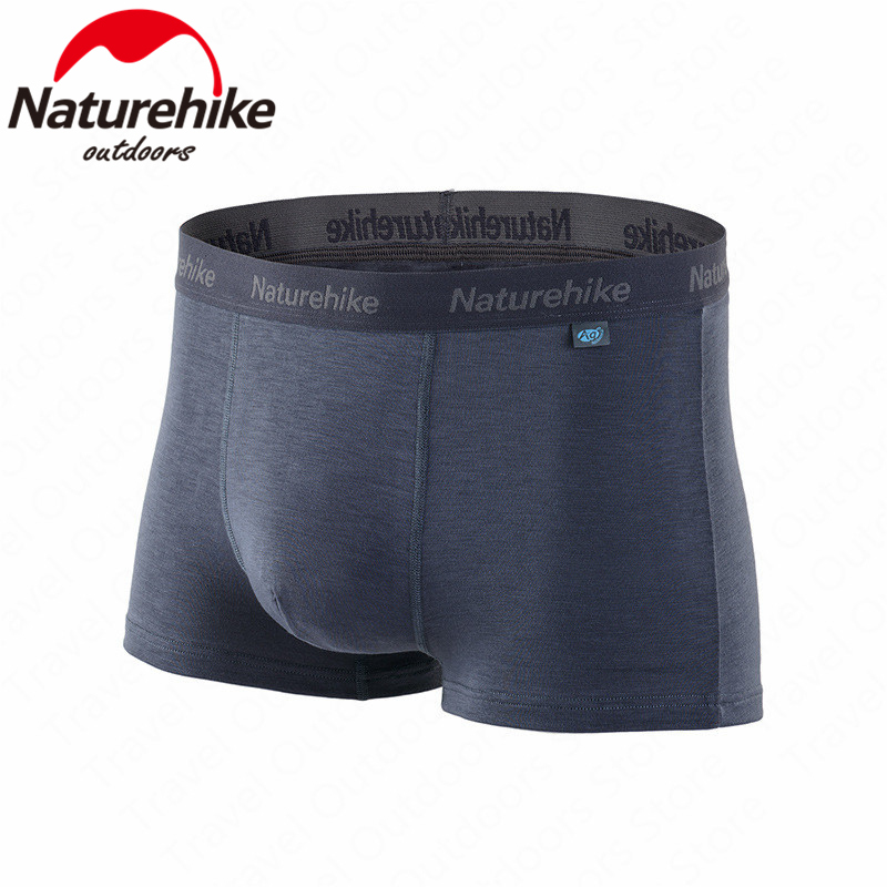 Naturehike Men's Underpants Sports Quick-Drying Underpants Soft Lightweight Elasticity Breathable Swimming Trunks Hiking Running