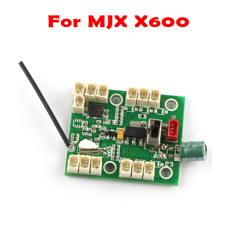 MJX X600 Main Receiver Board RC Quadcopter Drones Aircraft Spare Parts Accessories Hot Sale Best Price h22 007 receiver board spare part for h22 rc quadcopter