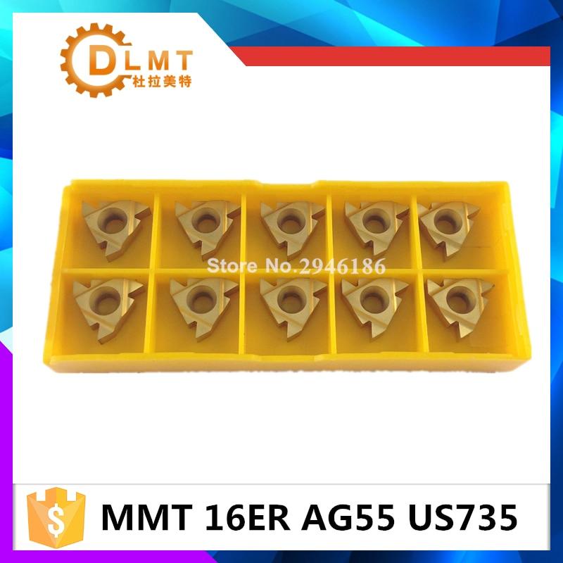 20db MMT 16ER AG55 AG60 US735 Menet esztergáló szerszámok - Szerszámgépek és tartozékok - Fénykép 2