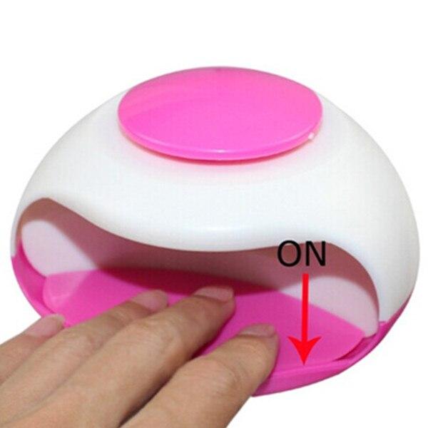 Mini secador de esmalte de uñas portátil para secador de - Arte de uñas - foto 2