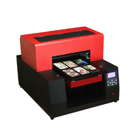 2018 A3 UV Inkjet printer uv printer a3 size for wood/Metal/Glass/phone case bottle printer with Acrorip 9.0 version software