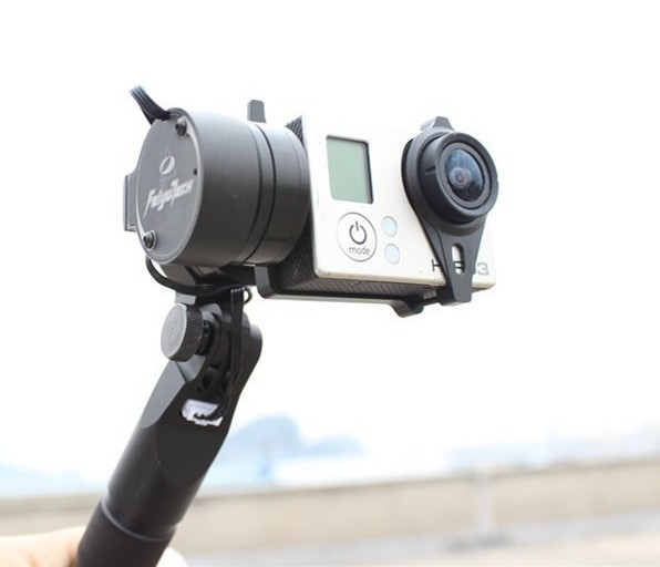 Feiyu FY G3 Steadycam Handheld 2-Axis Brushless Camera Gimbal for Gopro 3 Free Shipping walkera g 2d camera gimbal for ilook ilook gopro 3 plastic version