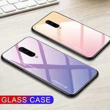 Gradient Glass Phone Case For OnePlus 7 Pro Tempered Glass For One Plus  7Pro 7 Pro Business Gorgeous Luxury Back Cover Fundas