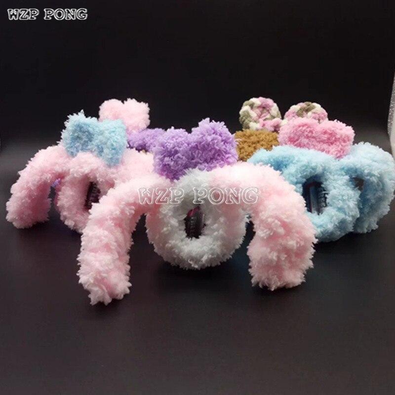Ручной работы tamagochi Защитный чехол милый кролик эльф модель шерсть Вязание ПЭТ ручной Игры 4U 4U + Mix Защитный чехол подарок для детей ...