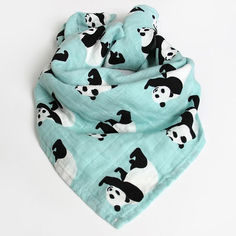 2Pcs Muslin Cotton Baby Security Blanket 60x60cm Newborn Baby Bib Burp Cloth 2 Layer Gauze Bath Towel Baby Scarf Handkerchief