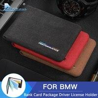 La velocidad de la tarjeta bancaria Paquete de licencia de conductor titular para BMW E46 E90 E39 E60 E36 E92 F30 F10 F20 F11 F31 F01 F34 G30 Accesorios