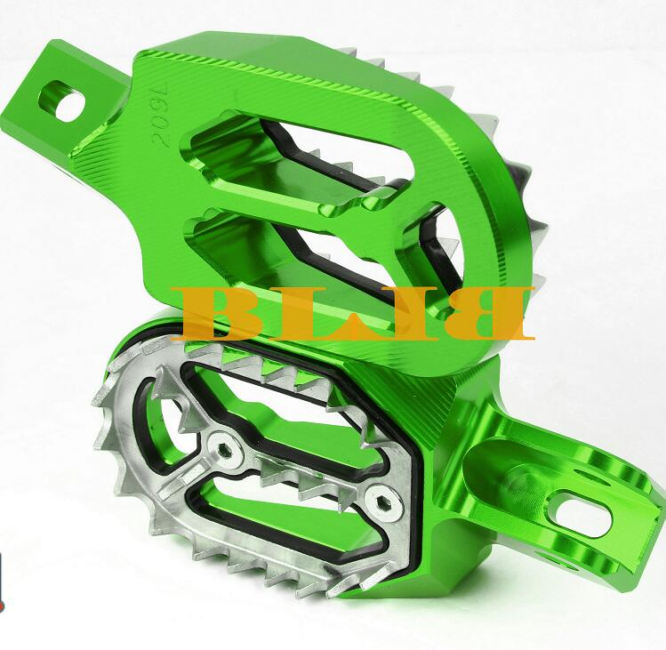 Motocross Footrests Footpegs for Yamaha YZ426F WR426F 2001-2002 WR250X 2008-2011