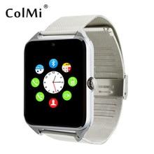 Smartwatch GT08 Plus Bluetooth Kamera Sync Notifier Unterstützung Sim TF Karte Verbunden Android Telefon Metall Band Smart Armbanduhr
