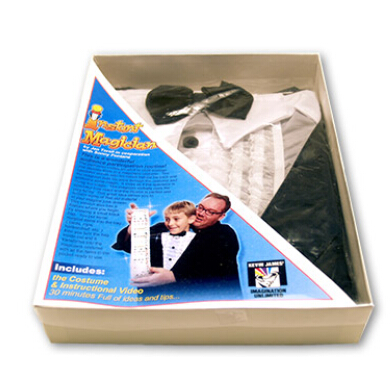 Instant Magician Magic Tricks Bag Pocket to Clothes Magie Stage Gimmick Props Mentalism Illusion Funny Produce Object Bag image