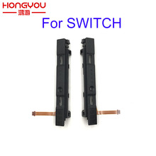 original Left Right track Slider Flex Cable Strip For NS Nintendo Switch Joy Con Parts L R Switch Middle Button Holder