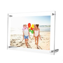Acrylic Photo Frame Magnetic Sign display  PF002