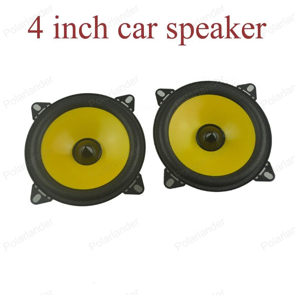 a pair 4 inch Full-range car speaker PS401D car