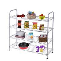 4 Tier Carbon Steel Shoe Rack Shoe Tower Shelf Storage Organizer Cabinet Organizer Stand Holder Keep Room
