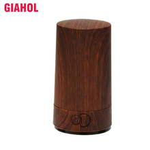 GIAHOL 70ML Mini Portable Ultrasonic Essential Oil Diffuser LED Light Cool Mist Humidifier Aromatherapy for Car home