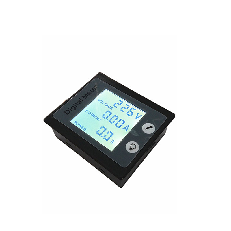 New AC 80-260V 10A AC Ammeter Voltmeter Power / Energy Meter Gauge Voltimetro Amperimetro with STN LCD Backlight