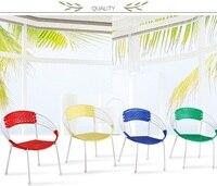 Balıkçılık sandalye Piknik dışkı otel salonu kırmızı sarı mavi yeşil renk PE materail pattan koltuk ücretsiz kargo