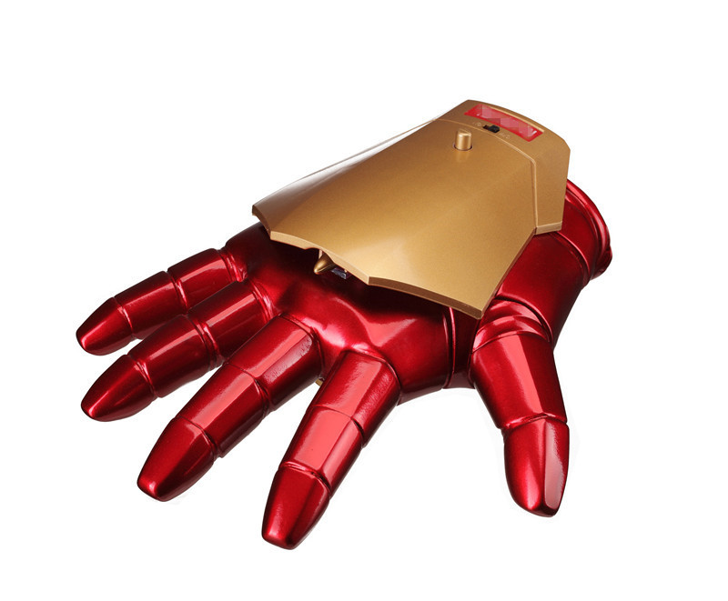 Avengers Iron Man Gloves IRONMAN MK3 gloves perfect Sound and Light 1:1 Cosplay Figure Toy Collection Model Gift